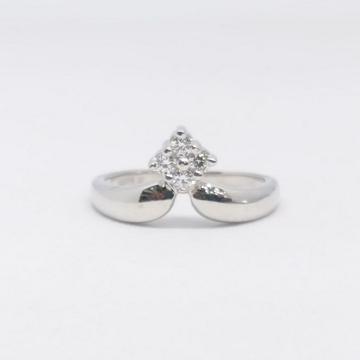 925 Sterling silver Diamond ladies ring by Zaverat