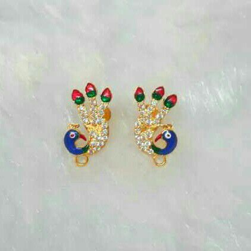 Children gold ear drops jewellery