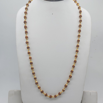 22k Gold rudraksh chain by