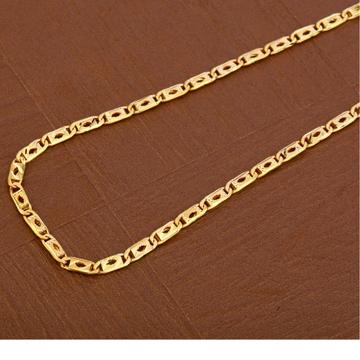 916 Gold Fancy Men's Nawabi  Chain  MNC37