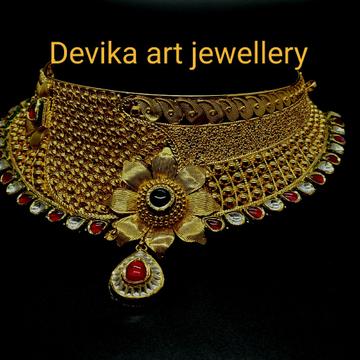 Choker set by Devika Art Jewellery