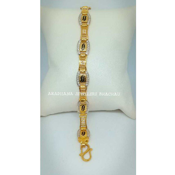 916 Gold CZ Stone Bracelet