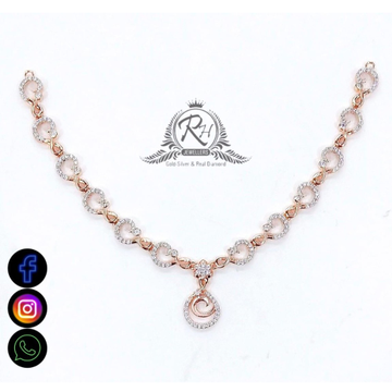 22 cara gold classical daimond necklace set RH-NS547