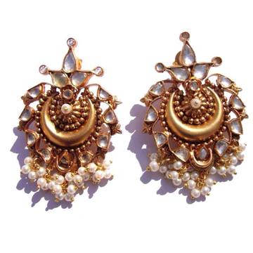 Designer antique earrings#312