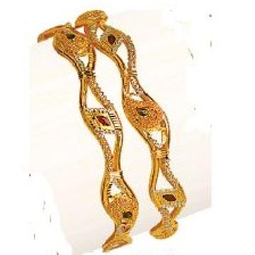 22kt gold fancy vakiya kadli