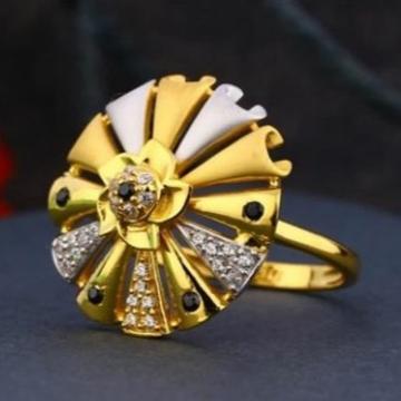 22 carat gold antique ladies rings RH-LR470
