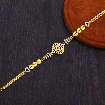 22KT Gold Fancy  Women's Bracelet LB309