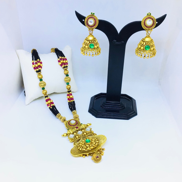 DESIGNING FANCY ANTIQUE GOLD MANGALSUTRA by