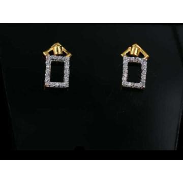 22 K Gold Fancy Earring. NJ-E01158