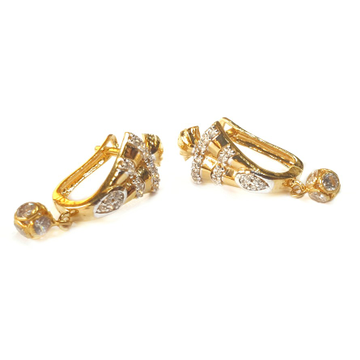 18k gold earrings mga - gb0011