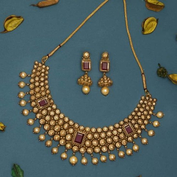 haar Kundan 916 Bridal Set Rajputi Gold new gold  by