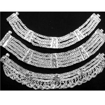 999 Silver Bharwadi Payal RJ-P04 by