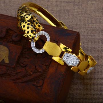 Mens Gold 22K Kada Bracelet-MKB11