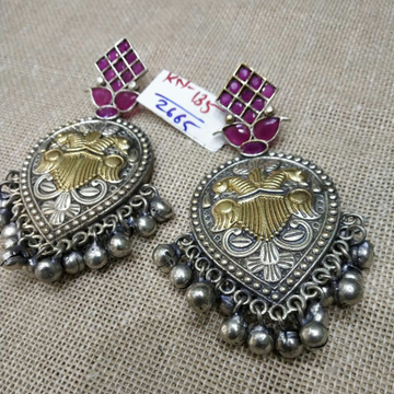 Beautiful Earrings With Pink Diamonds