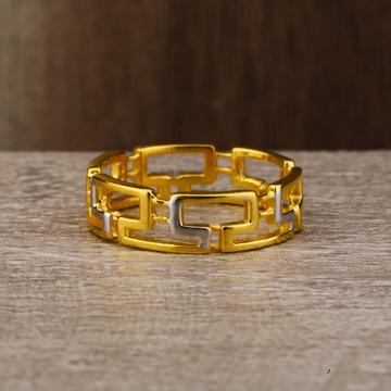 Ladies 916 Gold Fancy Plain Ring -LPR118
