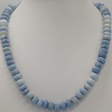 Natural blue opal round beeds mala