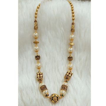 22 KT ANTIQUE MERCURY MALA by