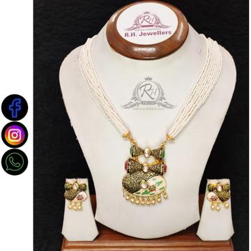 22 carat gold classical necklace set rH-LS221