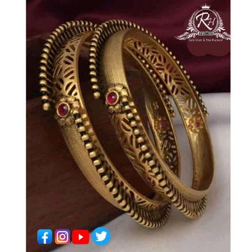 22 carat gold traditional bangles RH-LB391