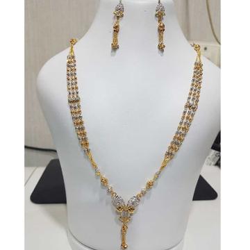 22K / 916 Gold Designer Indian Dokiya by H. V. Jewels