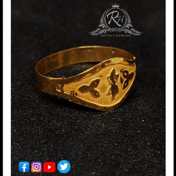 22 carat gold for kids rings RH-KR363