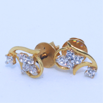 916 / 22KT gold daliyware casual earring for ladies BTG0295