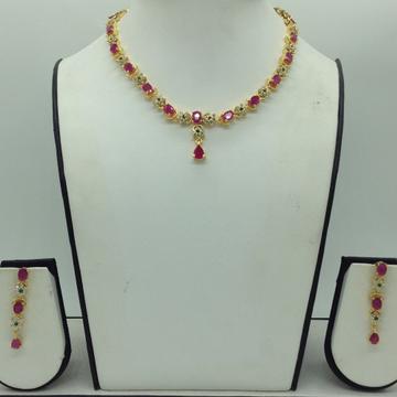 Multicolour CZ Stones Necklace Set JNC0170