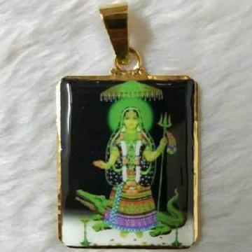 22KT Antique Gold Religious Pendant
