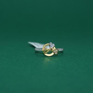 22KT Hallmarked Classy Ladies Ring by Simandhar Jewellers