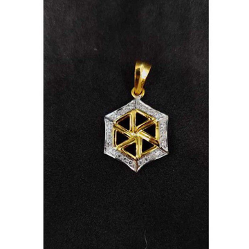 22k Gents Fancy Gold Pendant P-44548