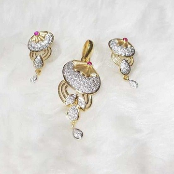 916 exclusive cz pendant set
