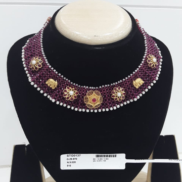 22KT Gold light Weight jewelry For Women