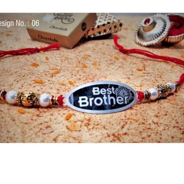Silver 999 Best Brother Rakhi RH-R3