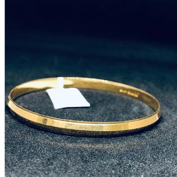 916 Gold Hallmark Simple  Bracelet