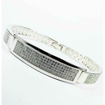 New 925 Silver Micro Gents Bracelet