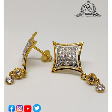 22 carat gold classical earrings RH-ER258