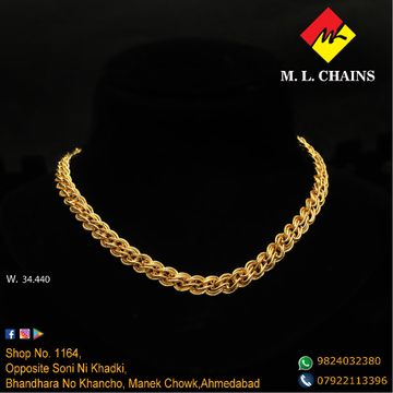 916 Gold Handmade Chain ML-C15