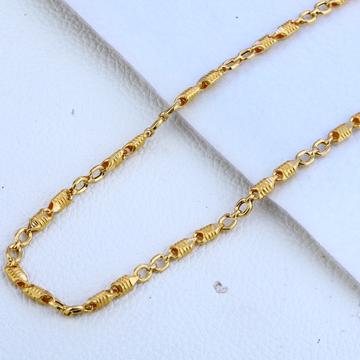 916 gold Hallmark designer  Choco Chain MCH161