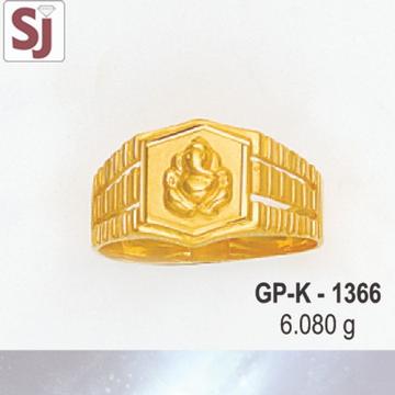 Ganpati Gents Ring Plain GP-K-1366
