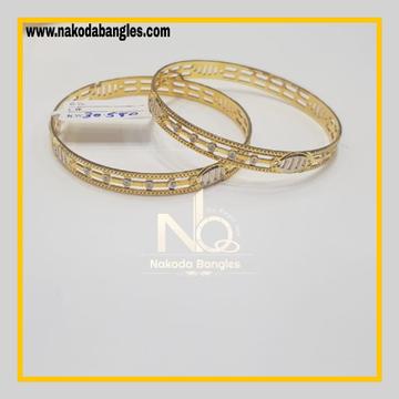 916 Gold CNC Bangles NB - 628
