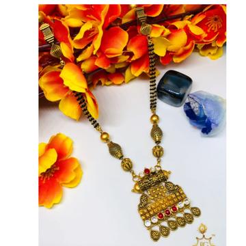 916 Gold Jadtar Mangalsutra ms-0003