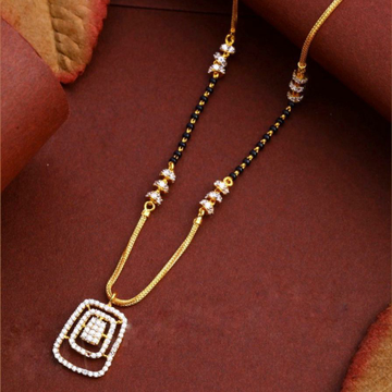 22KT/ 916 Gold fancy casual wear square pendant ma... by