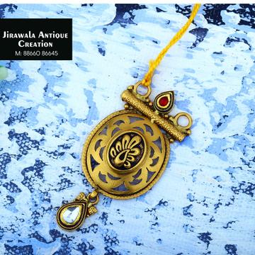 916 Gold Antique Jadtar Pendant JAP-010