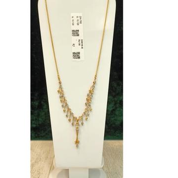 22KT Gold Hallmark Antique Pendant Chain
