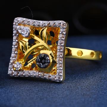 22CT Gold CZ Gorgeous Ladies Ring LR214