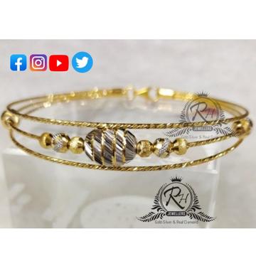 22 carat gold fancy ladies kada RH-KD569