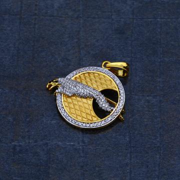Exclusive 916 Jaguar Gold Pendant-MHP13