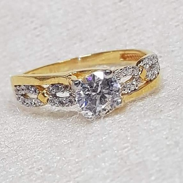 GOLD 22K/916 ladies diamond ring RH-GR346