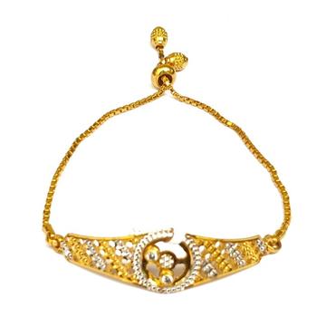 One gram gold forming cnc bracelet mga - bre0048