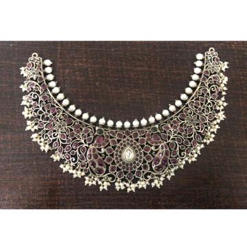 925 silver Designer Choker Necklace VJ-N004